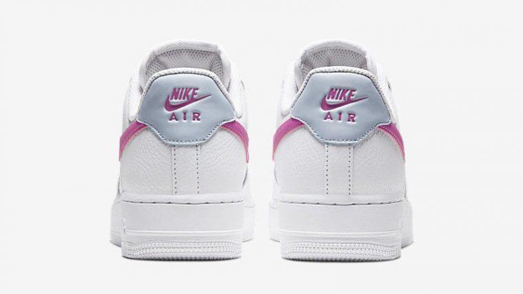 Nike Air Force 1 '07 White Pink Back thumbnail image