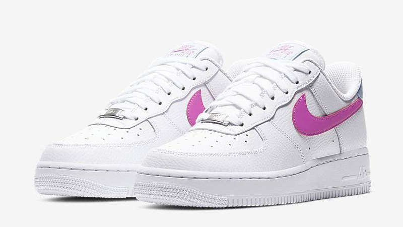 Nike Air Force 1 '07 White Pink Front