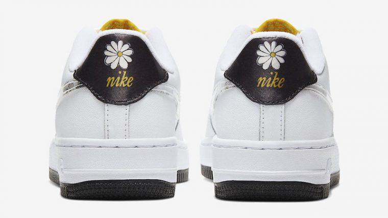 Nike Air Force 1 Daisy Pack White Back thumbnail image