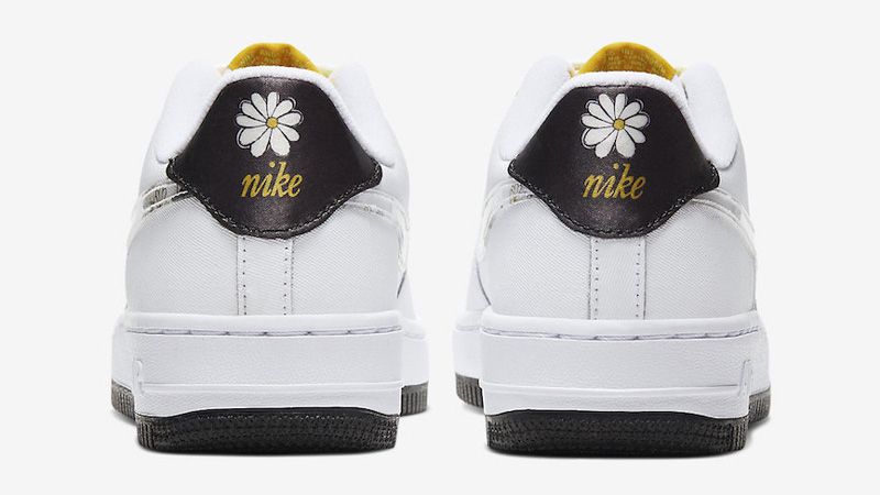 Nike Air Force 1 Daisy Pack White Back