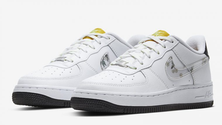 Nike Air Force 1 Daisy Pack White Front thumbnail image