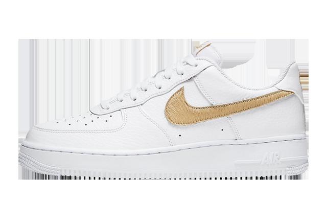 Nike Air Force 1 LV8 White Gold