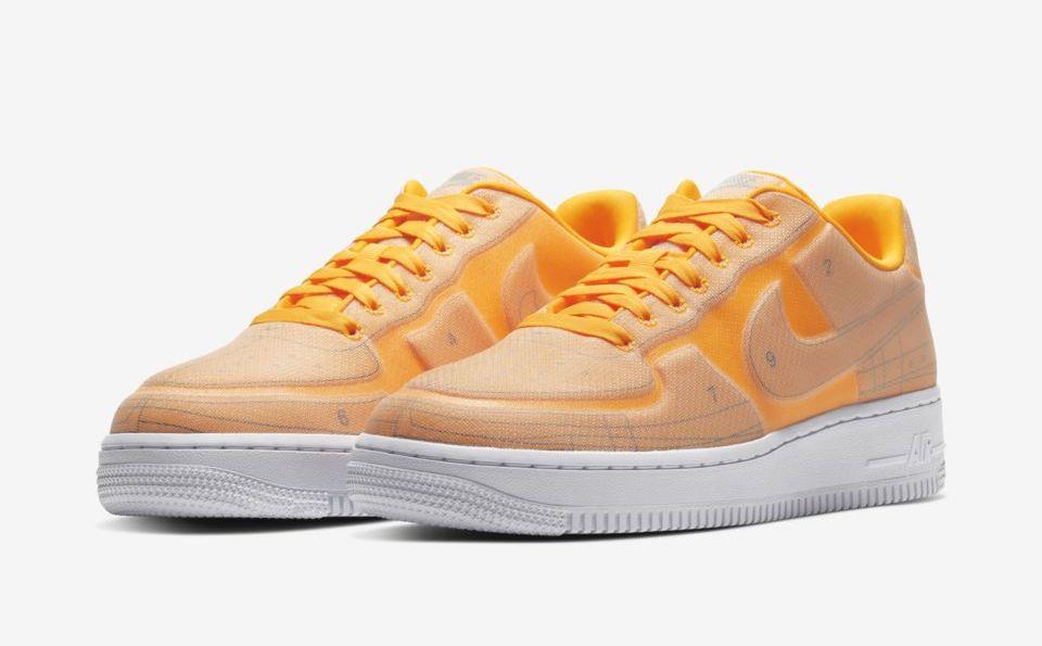 Nike Air Force 1 Laser Orange Schematic.