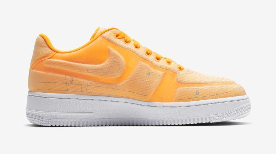 Nike Air Force 1 Laser Orange Schematic