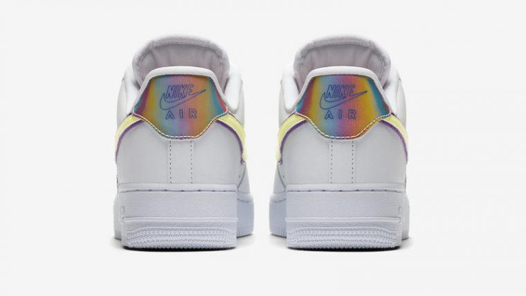 Nike Air Force 1 Low Easter 2020 White Barely Volt Back thumbnail image