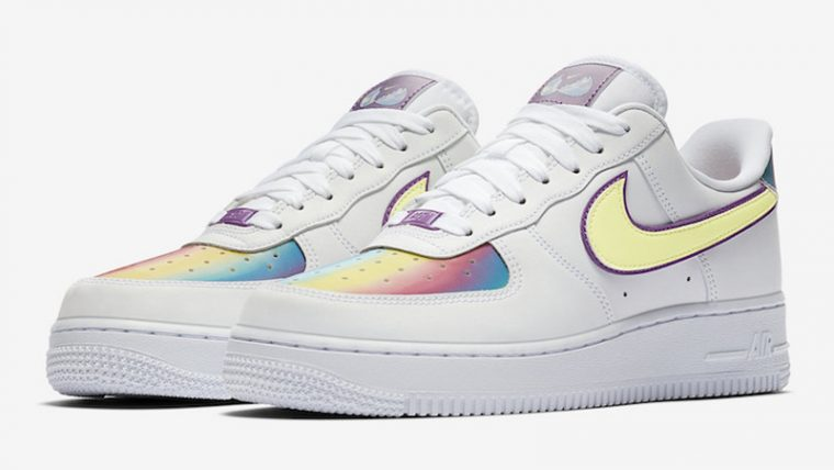 Nike Air Force 1 Low Easter 2020 White Barely Volt Front thumbnail image