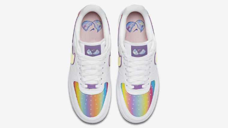 Nike Air Force 1 Low Easter 2020 White Barely Volt Middle thumbnail image