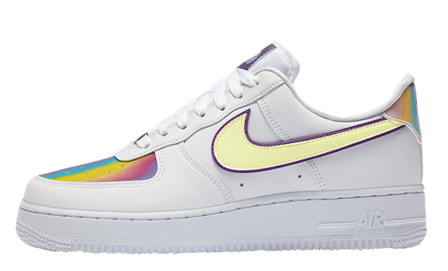 Nike Air Force 1 Low Easter 2020 White Barely Volt