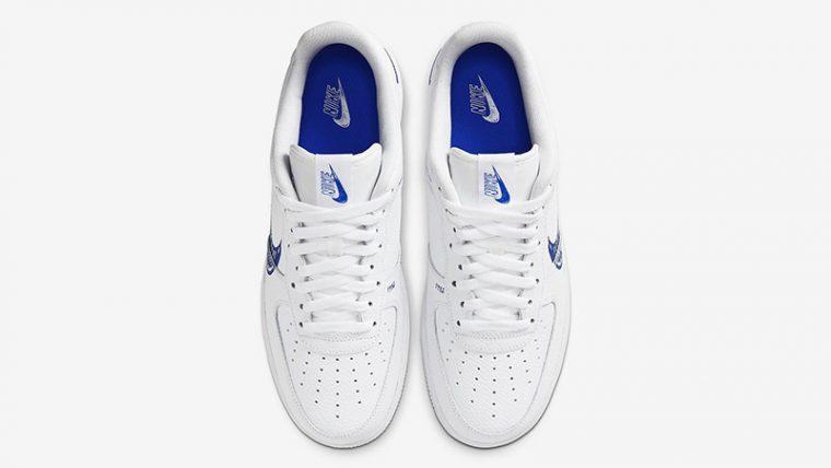 Nike Air Force 1 Low Sketch White Royal Middle thumbnail image