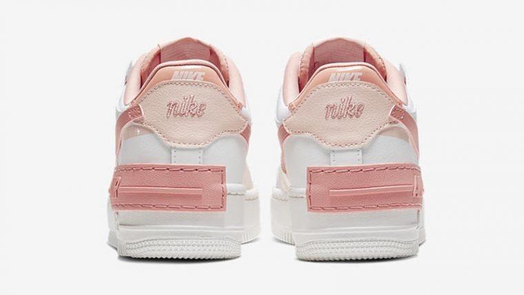 Nike Air Force 1 Shadow Pastel Pink Back thumbnail image
