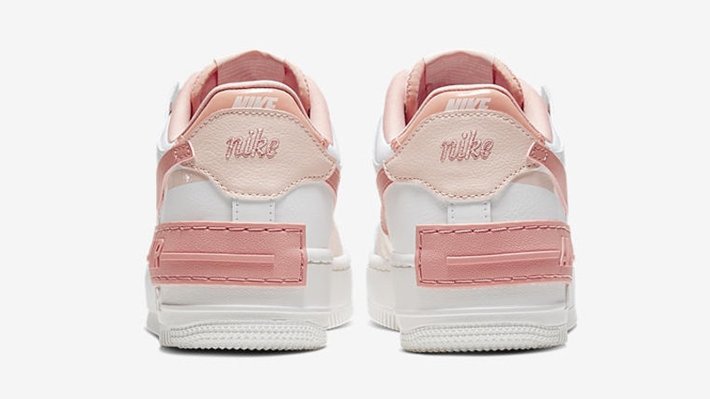 Nike Air Force 1 Shadow Pastel Pink Cj1641 101 The Sole Womens
