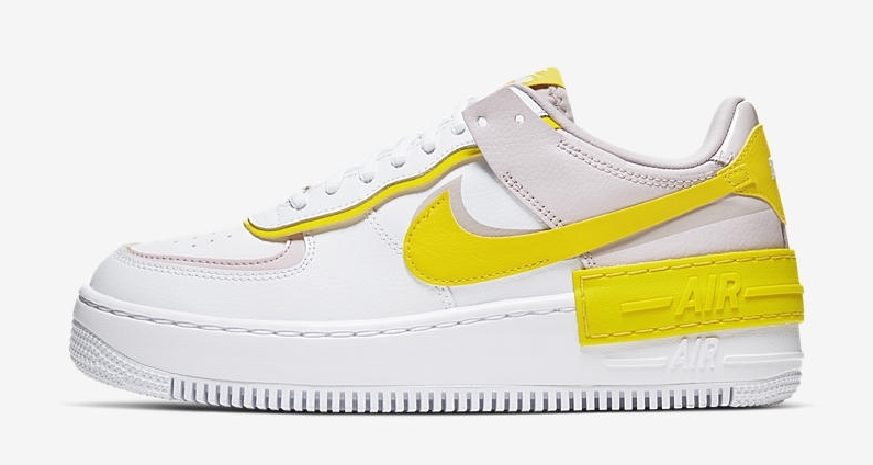 Nike Air Force 1 Shadow White Yellow
