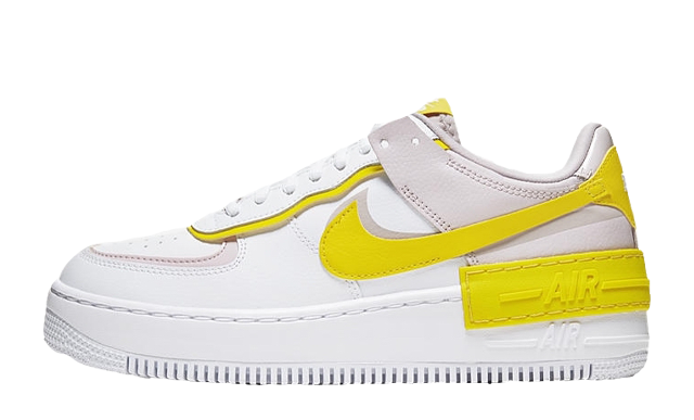 Nike Air Force 1 Shadow White Yellow Where To Buy Cj1641 102 The Sole Womens Searching for nike air force 1 shadow (women's 10)? nike air force 1 shadow white yellow