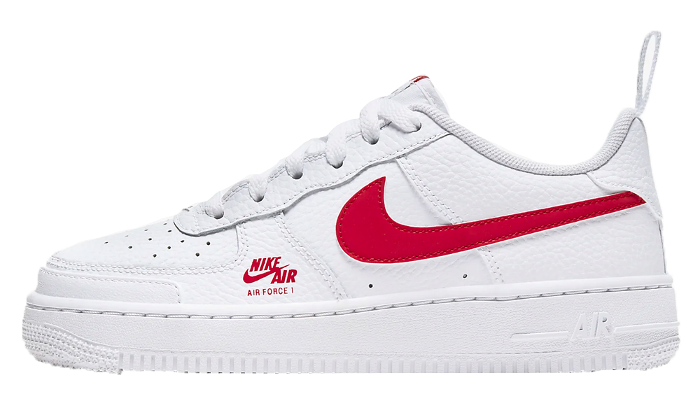 Nike Air Force 1 Utility White Red CZ4203-100 3