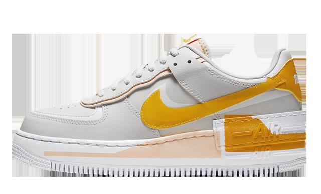 Nike Air Force 1 Vast Grey Pollen Rise