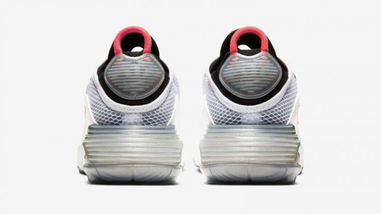 Nike Air Max 2090 White Pure Platinum Back thumbnail image