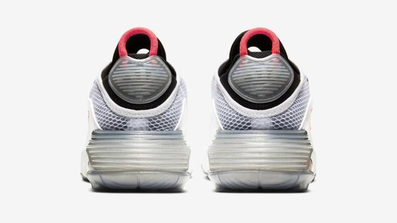 Nike Air Max 2090 White Pure Platinum Back