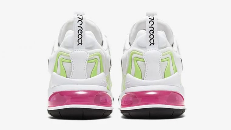 Nike Air Max 270 React ENG Pink White back thumbnail image