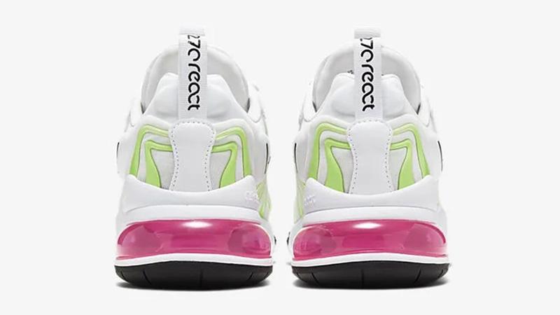 Nike Air Max 270 React ENG Pink White back