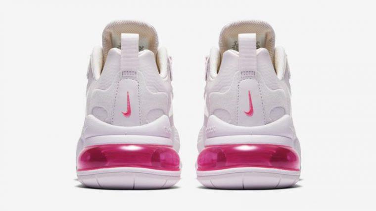 Nike Air Max 270 React Light Violet Digital Pink Back thumbnail image