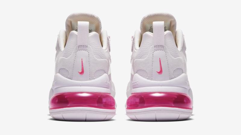 Nike Air Max 270 React Light Violet Digital Pink Back