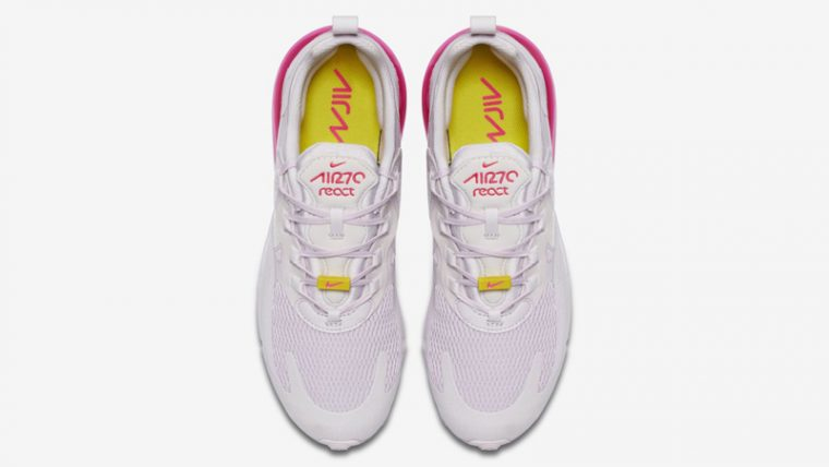 Nike Air Max 270 React Light Violet Digital Pink Middle thumbnail image