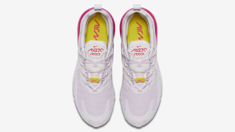 Nike Air Max 270 React Light Violet Digital Pink Middle