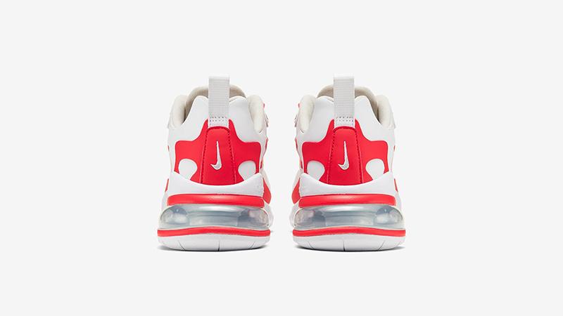 Nike Air Max 270 React Red White BV3387-100 back