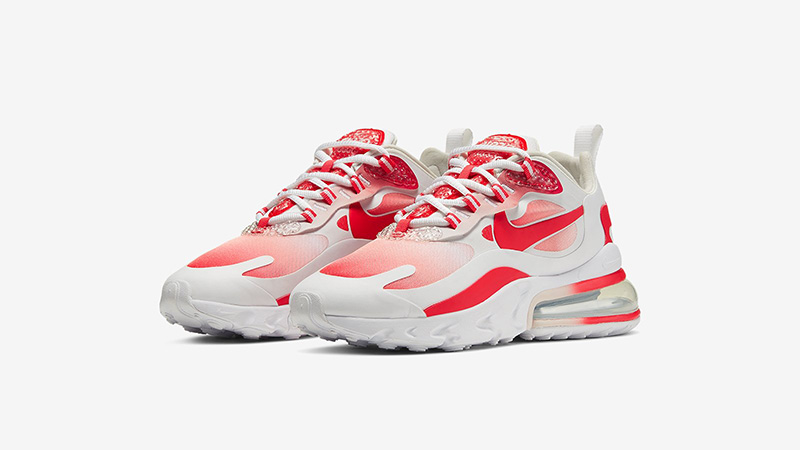 Nike Air Max 270 React Red White BV3387-100 front