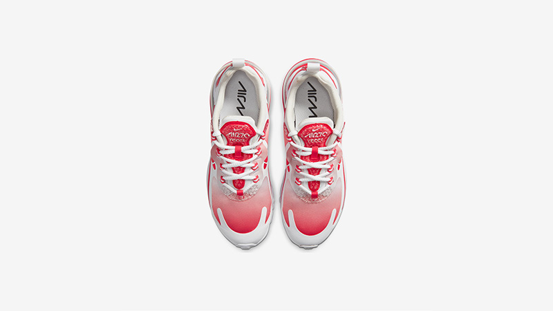 Nike Air Max 270 React Red White BV3387-100 middle