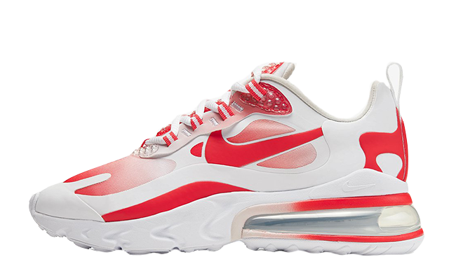 Nike Air Max 270 React Red White BV3387-100