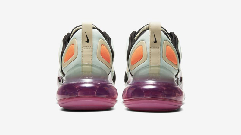 Nike Air Max 720 Black Pistachio Frost Back