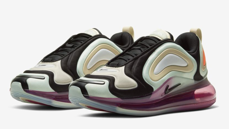 Nike Air Max 720 Black Pistachio Frost Front