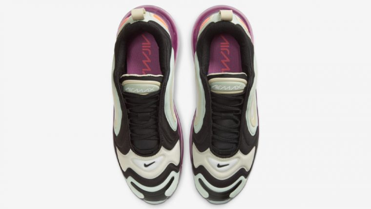 Nike Air Max 720 Black Pistachio Frost Middle thumbnail image
