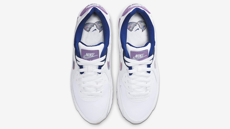 Nike Air Max 90 Easter White Purple Middle