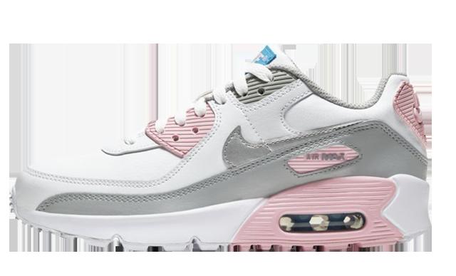 Nike Air Max 90 LTR Smoke Grey Pink