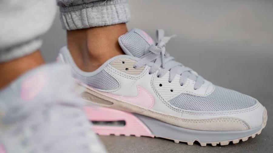 Nike Air Max 90 Pastel Pink   Where To Buy   CW7483-001   nike ...