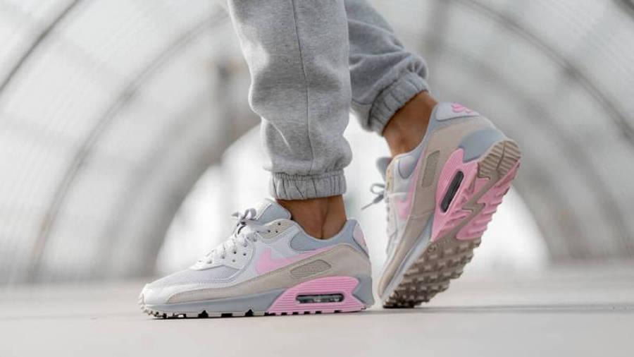 Nike Air Max 90 Pastel Pink | Where To Buy | CW7483-001 | nike ...
