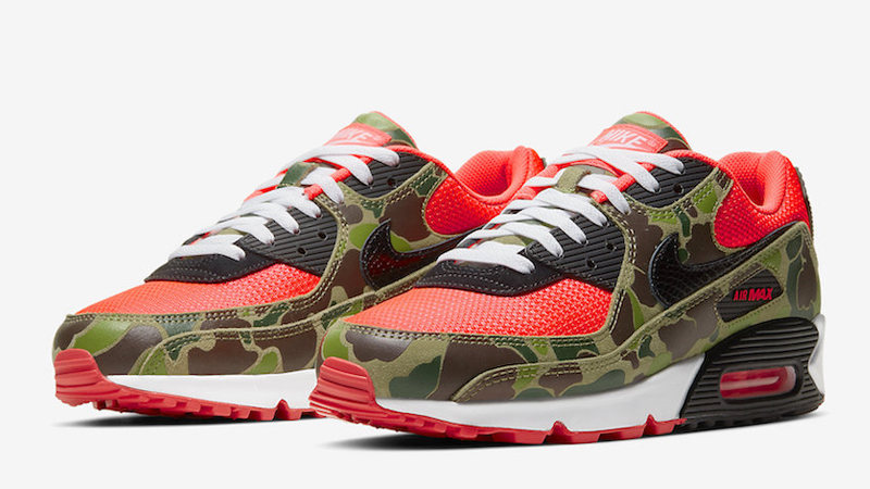 Nike Air Max 90 Reverse Duck Camo Front