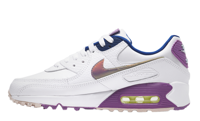 Nike Air Max 90 SE White Purple