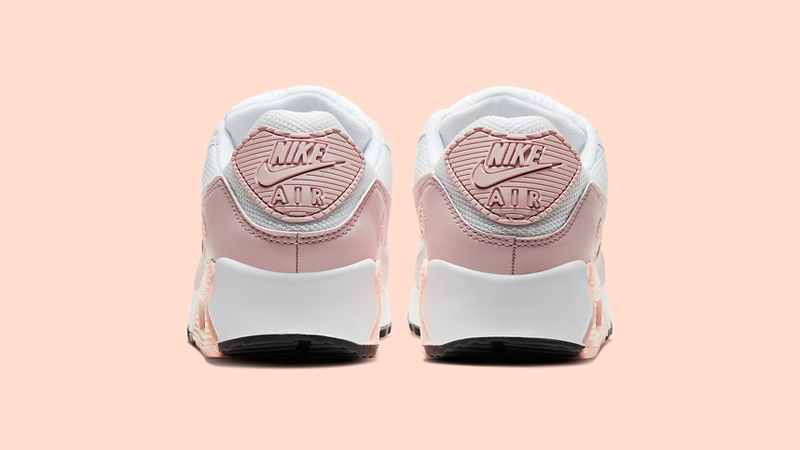 Nike Air Max 90 White Pink Back