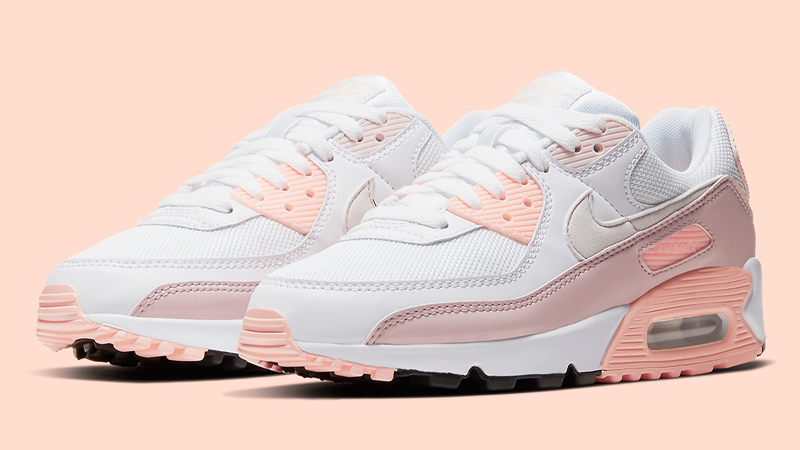Nike Air Max 90 White Pink Front