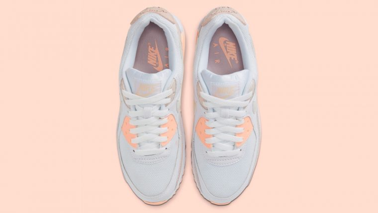 Nike Air Max 90 White Pink Middle thumbnail image