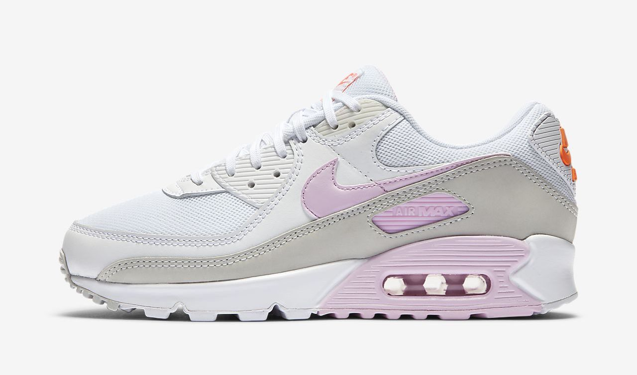 Nike Air Max 90 White Pink side