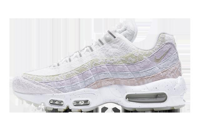 Nike Air Max 95 Spring Flower White