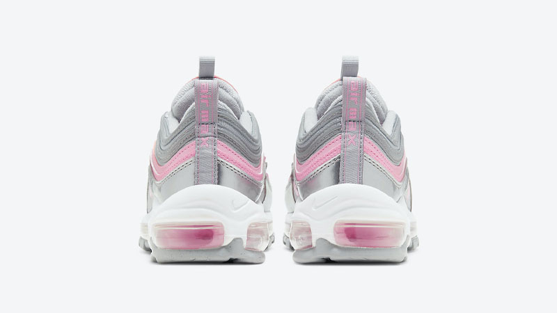 Nike Air Max 97 GS Silver Pink Back