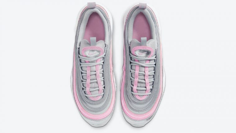Nike Air Max 97 GS Silver Pink Middle thumbnail image