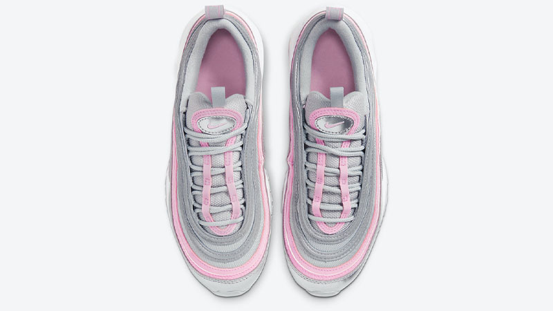 Nike Air Max 97 GS Silver Pink Middle