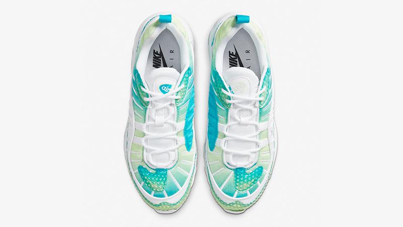 Nike Air Max 98 Bubble Pack Aqua CI7379-300 middle