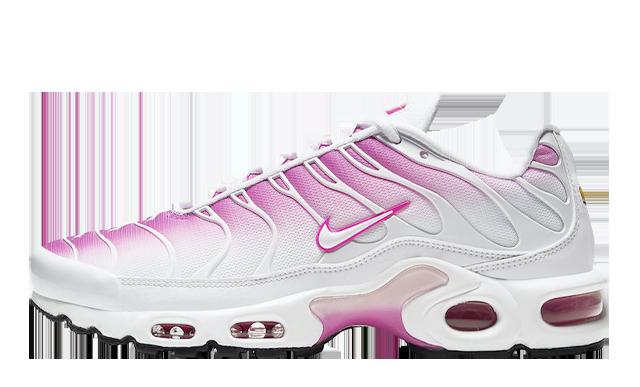 Nike Air Max Plus White Pink | CZ7931